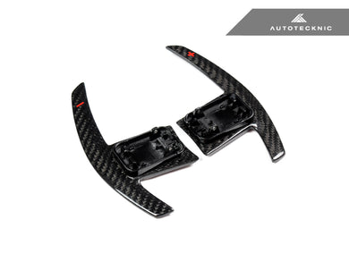 Shop AutoTecknic Dry Carbon Battle Version Shift Paddles - A90 Supra 2020-Up - AutoTecknic