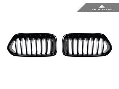 Shop AutoTecknic Replacement Glazing Black Front Grilles - F39 X2 - AutoTecknic