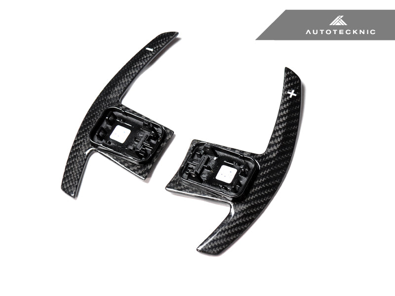 Shop AutoTecknic Dry Carbon Battle Version Shift Paddles - F91/ F92/ F93 M8 - AutoTecknic USA