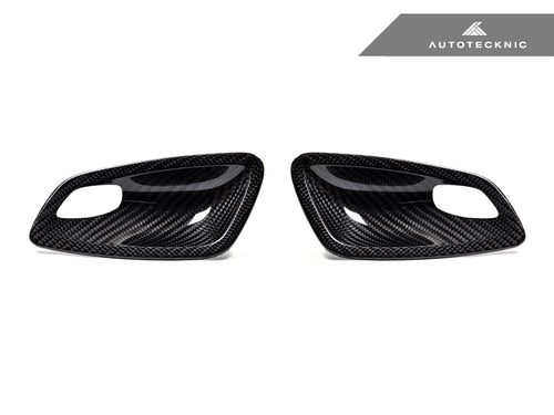 Shop AutoTecknic Dry Carbon Interior Door Handle Trims - E92 3-Series & M3 | E93 3-Series & M3 - AutoTecknic