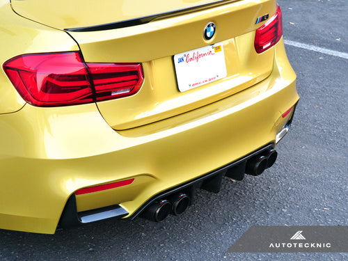 Shop AutoTecknic Dry Carbon Extended-Fin Competition Rear Diffuser - F80 M3 | F82/ F83 M4 - AutoTecknic