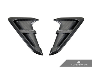 Shop AutoTecknic Replacement Dry Carbon Fiber Fender Trims - F97 X3M | F98 X4M | G01 X3 | G02 X4 - AutoTecknic
