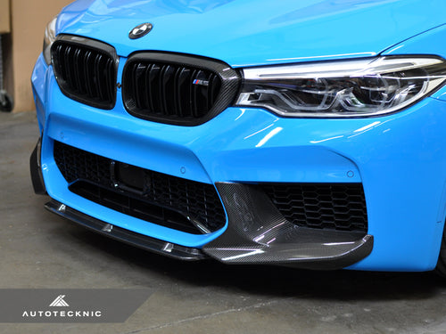 Shop AutoTecknic Dry Carbon Fiber Center Front Lip - F90 M5 | F90 M5 Competition - AutoTecknic USA