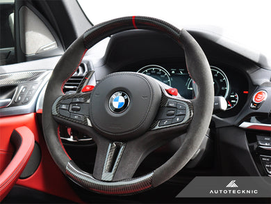 Shop AutoTecknic Replacement Carbon Steering Wheel - F97 X3M | F98 X4M | G01 X3 | G02 X4 - AutoTecknic USA