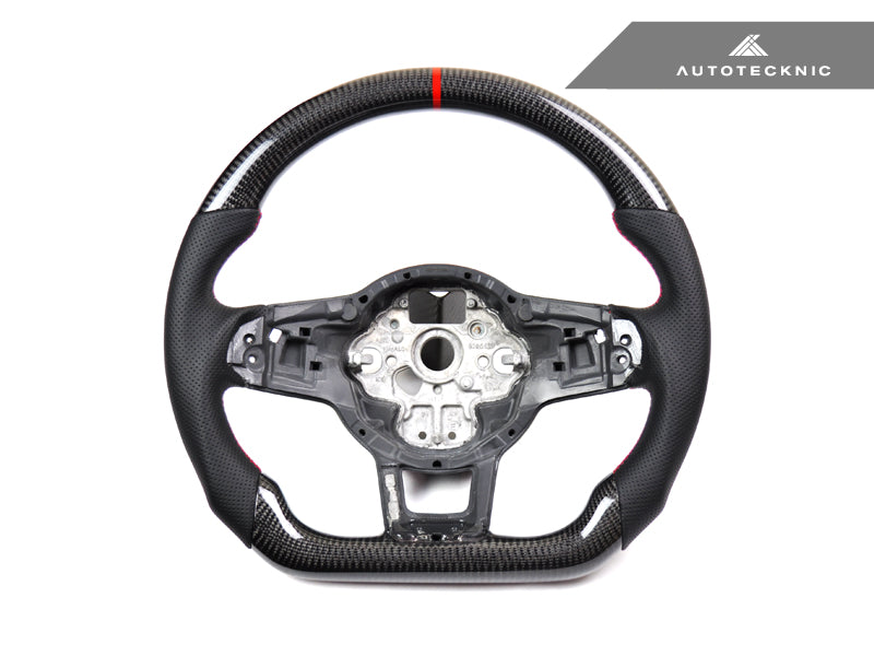 Shop AutoTecknic Carbon Fiber Steering Wheel - VW Golf 7 GTI | Golf R - AutoTecknic USA