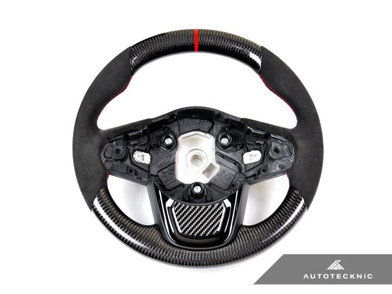 AutoTecknic Replacement Carbon Steering Wheel - A90 Supra 2020-Up - AutoTecknic USA