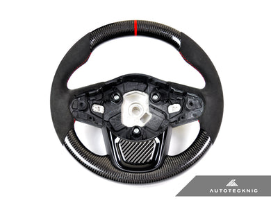 Shop AutoTecknic Replacement Carbon Steering Wheel - A90 Supra 2020-Up - AutoTecknic USA
