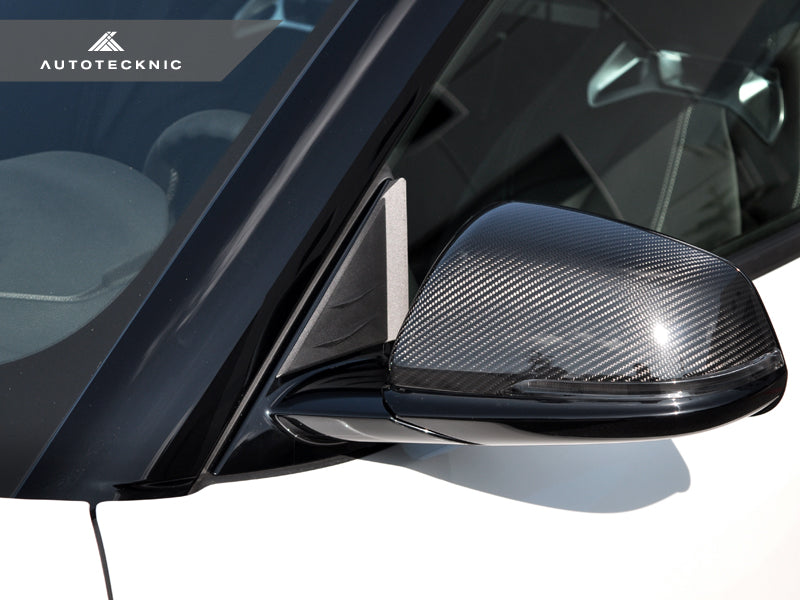 AutoTecknic Version II Side Mirror Wind Deflector Set - A90 Supra 2020-Up - AutoTecknic USA