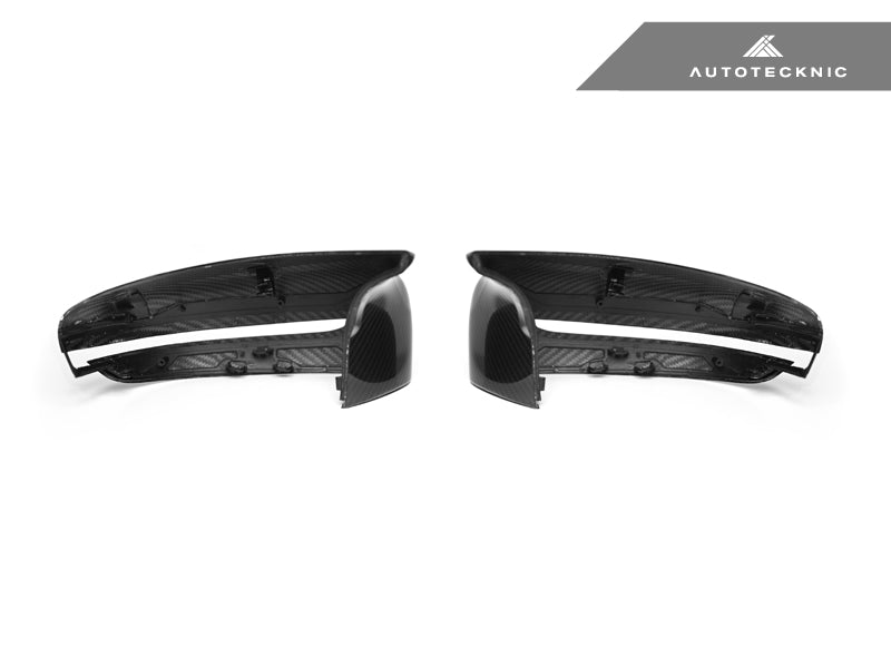 AutoTecknic Replacement Dry Carbon Mirror Covers - F90 M5 - AutoTecknic USA