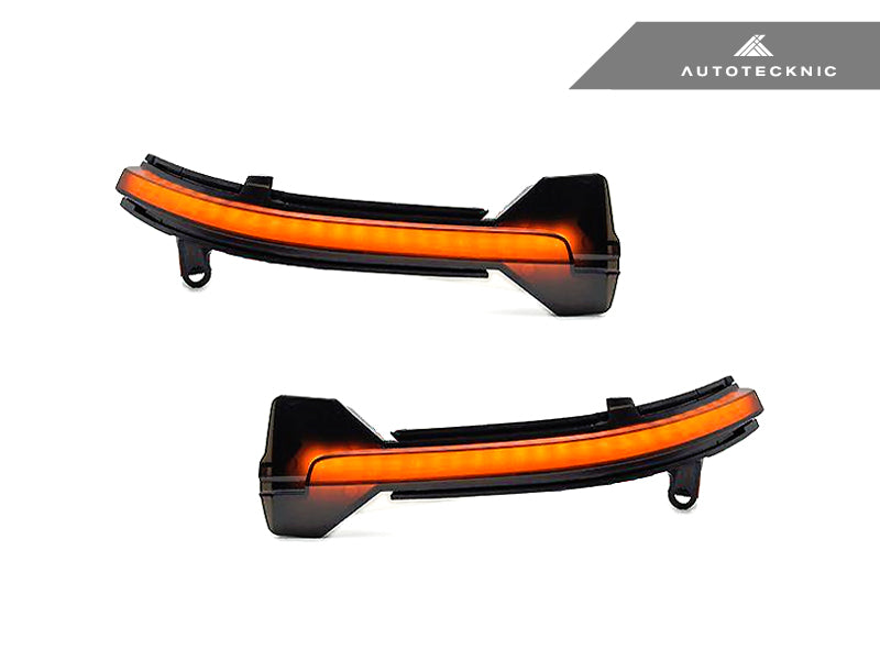 Shop AutoTecknic Smoked Dynamic Sequential LED Turn Signal - F10 5-Series | F06/ F12/ F13 6-Series - AutoTecknic USA