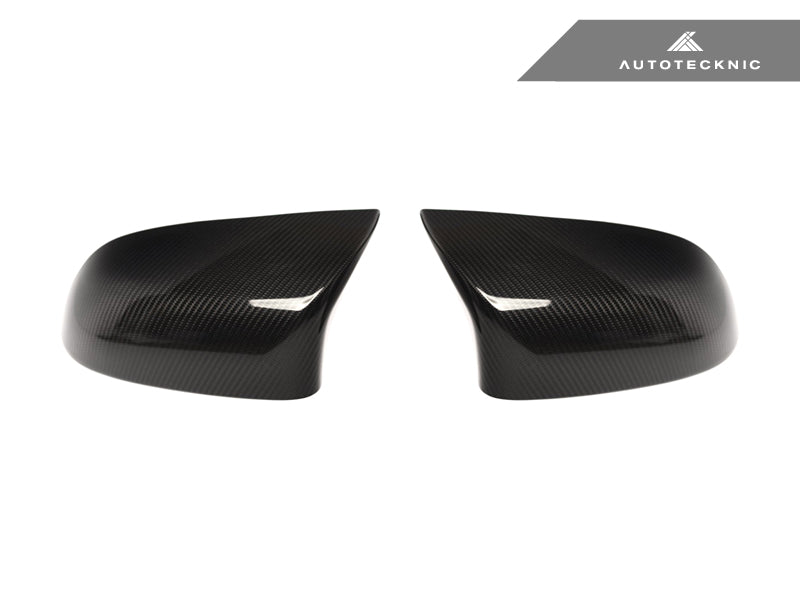 Shop AutoTecknic Replacement Version II Dry Carbon Mirror Covers - F85 X5M | F86 X6M - AutoTecknic USA