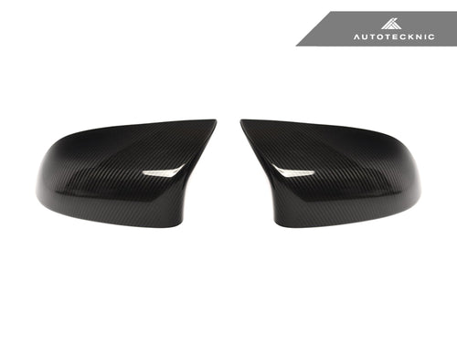 Shop AutoTecknic Replacement Version II Dry Carbon Mirror Covers - F85 X5M | F86 X6M - AutoTecknic