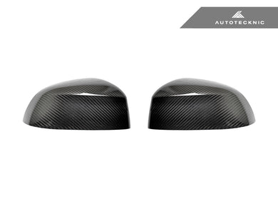 Shop AutoTecknic Replacement Dry Carbon Mirror Covers - G01 X3 | G02 X4 - AutoTecknic