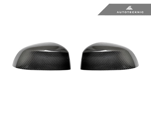 Shop AutoTecknic Replacement Dry Carbon Mirror Covers - G05 X5 | G06 X6 | G07 X7 - AutoTecknic