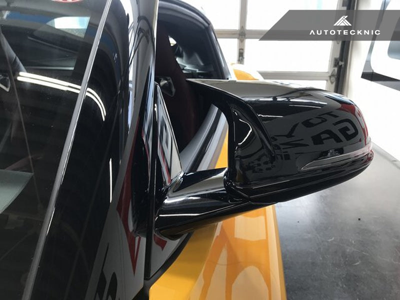 AutoTecknic M-Inspired Carbon Fiber Mirror Covers - F40 1-Series | F44 2-Series Gran Coupe - AutoTecknic USA