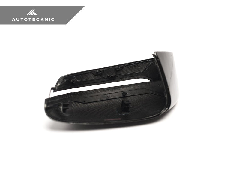 Shop AutoTecknic Replacement Version II Dry Carbon Mirror Covers - G30 5-Series | G32 6-Series GT | G11 7-Series - AutoTecknic USA