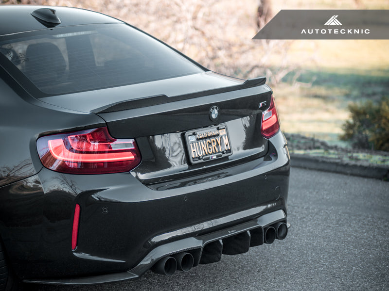 AutoTecknic Dry Carbon Fiber Competition Trunk Spoiler - F87 M2 | F87 M2 Competition | F22 2-Series - AutoTecknic USA