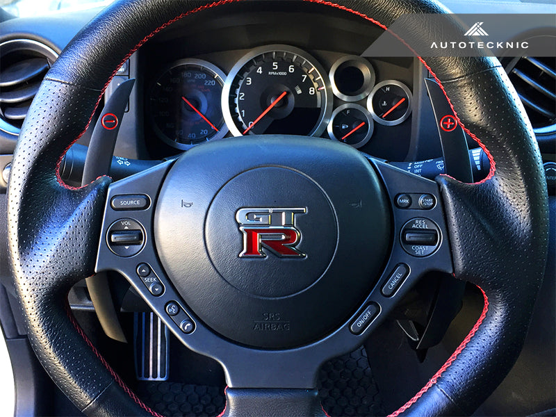 Shop AutoTecknic Competition Shift Paddles - Nissan R35 GT-R - AutoTecknic USA