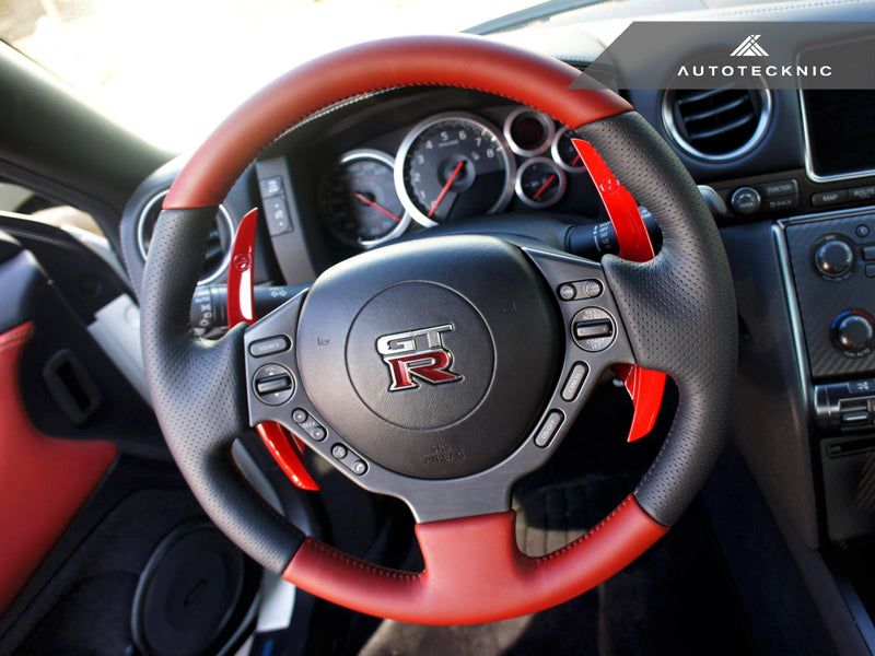 Shop AutoTecknic Competition Shift Paddles - Nissan R35 GT-R - AutoTecknic
