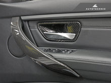 Shop AutoTecknic Dry Carbon Interior Door Handle Trims - BMW F-Chassis - AutoTecknic