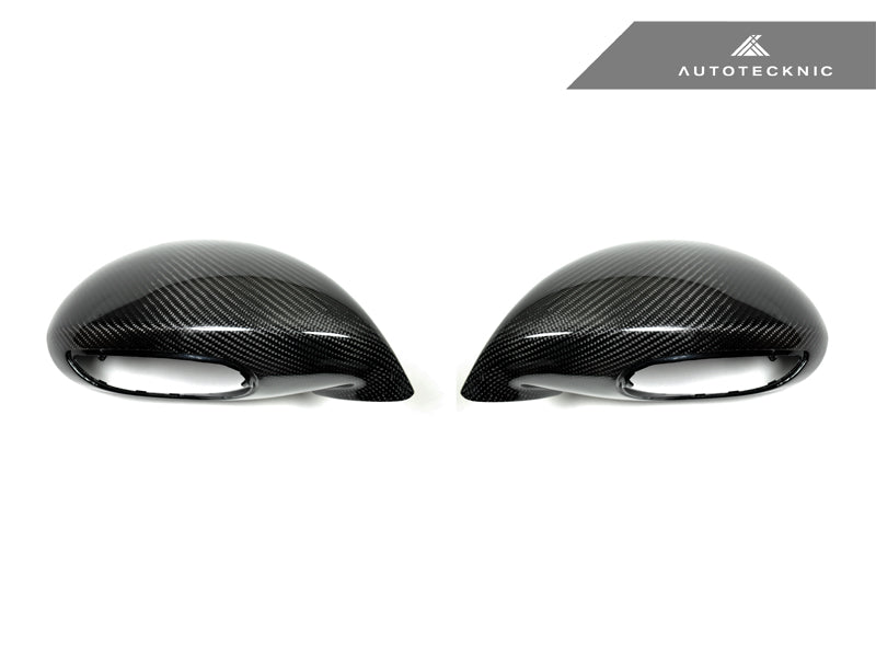 Shop AutoTecknic Dry Carbon Sport Design Mirror Covers - Porsche 991 Turbo | GT3 | GT4 - AutoTecknic USA
