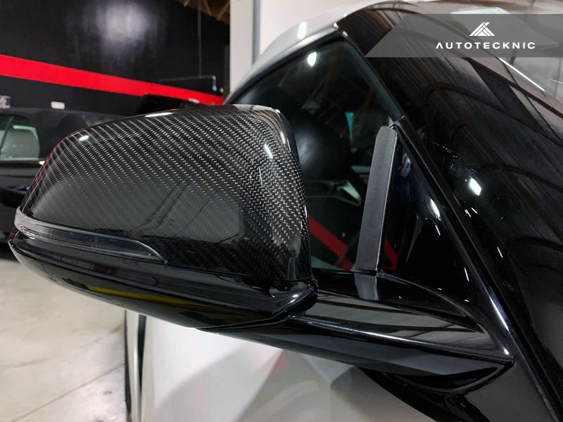 AutoTecknic Side Mirror Wind Deflector Set - A90 Supra 2020-Up - AutoTecknic USA