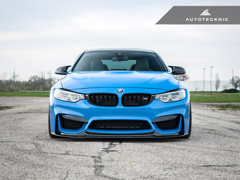 Shop AutoTecknic Carbon Fiber Headlight Covers - F32/ F36 4-Series | F80 M3 | F82/ F83 M4 - AutoTecknic USA