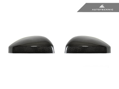 Shop AutoTecknic Replacement Carbon Mirror Covers - Audi 8S MK3 TT/ TTS 15-17 | 4S MK2 R8 16-18 - AutoTecknic