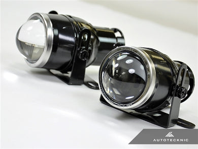 AutoTecknic Universal Projector Fog Lights - P1 Clear
