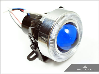 Shop AutoTecknic Universal Projector Fog Lights - Blue Projector P1A - AutoTecknic USA
