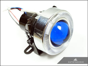 AutoTecknic Universal Projector Fog Lights - Blue Projector P1A