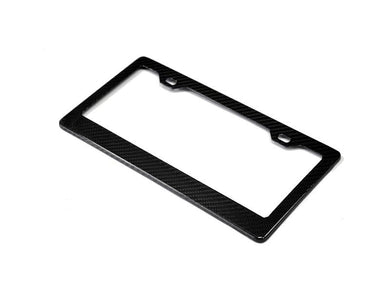 Shop AutoTecknic Dry Carbon Fiber License Plate Frame (US & Canada Only) - AutoTecknic USA
