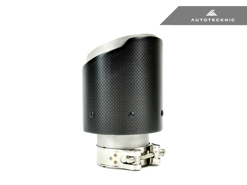 AutoTecknic Dry Carbon Fiber Exhaust Tip - AutoTecknic USA