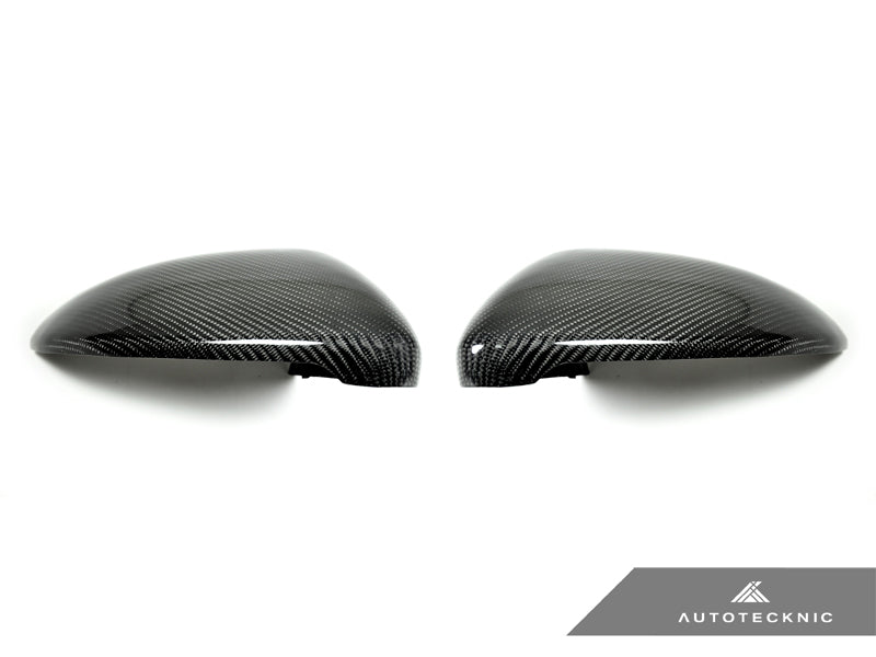 AutoTecknic Replacement Carbon Mirror Covers - Volkswagen Golf R/ Golf GTI MK7 Pre-Facelift - AutoTecknic USA