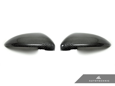 Shop AutoTecknic Replacement Carbon Mirror Covers - Volkswagen Golf R/ Golf GTI MK7 Pre-Facelift - AutoTecknic