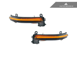 Shop AutoTecknic Smoked Dynamic Sequential LED Turn Signal - F-Chassis Vehicles - AutoTecknic USA