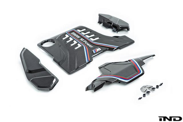 BMW M Performance Carbon Engine Cover - F90 M5 - AutoTecknic USA