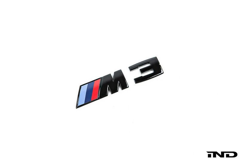 Shop IND Painted Trunk Emblem - E9X M3 - AutoTecknic USA