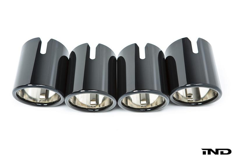 BMW Black Chrome Exhaust Tip Set - F90 M5 - AutoTecknic USA