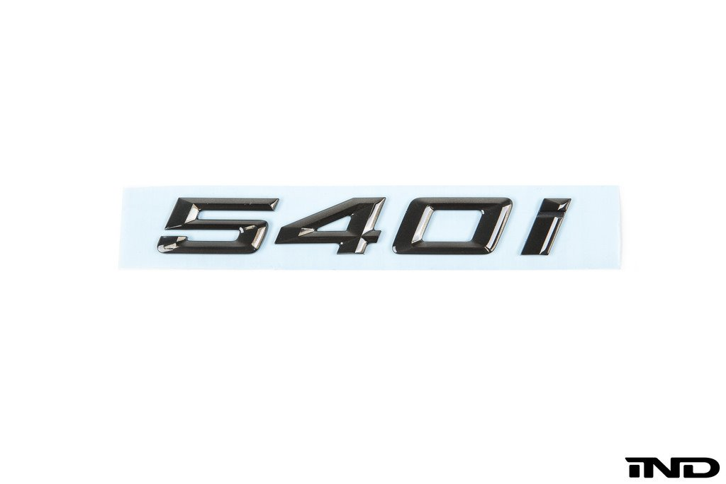 IND Painted Trunk Emblem - G30 540I - AutoTecknic USA
