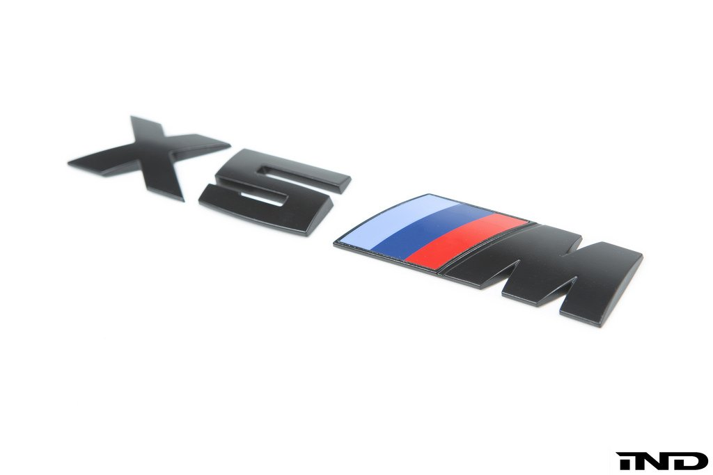 IND Painted Trunk Emblem - E70 X5M - AutoTecknic USA
