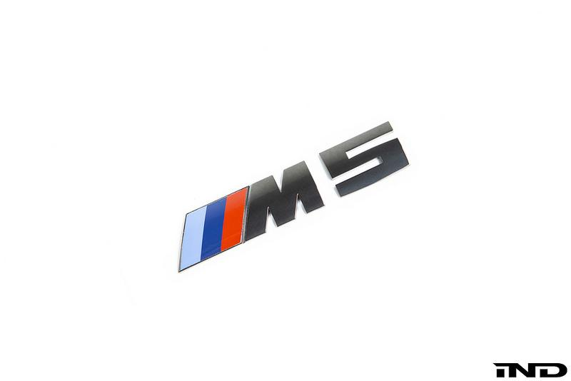 Shop IND Black Chrome Painted Trunk Emblem - F90 M5 - AutoTecknic USA