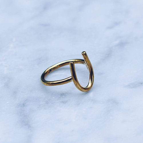 LUCKY RING | BRASS - JewelryLab