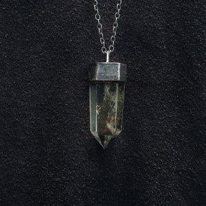 CITRIN QUARTZ NECKLACE | 925 STERLING SIVLER - JewelryLab