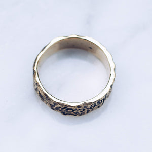 RAW BALINESE RING | BRASS - JewelryLab