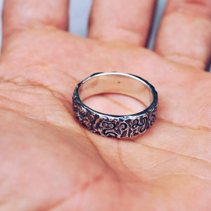 RAW BALINESE RING | 925 STERLING SILVER - JewelryLab