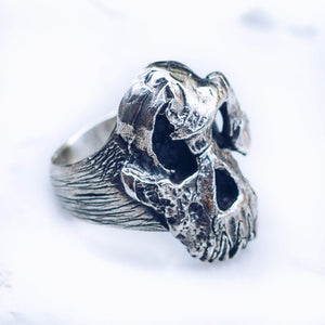 FIRST HUMAN RING | 925 STERLING SILVER - JewelryLab