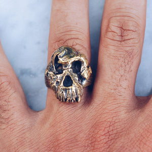 FIRST HUMAN RING | BRASS - JewelryLab