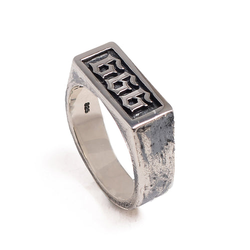 666 RING | 925 STERLING SILVER - JewelryLab