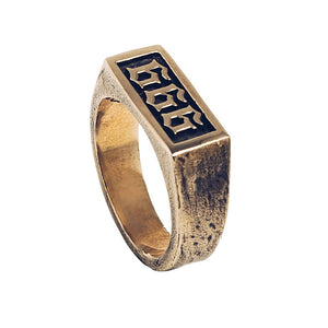 666 RING | BRASS
